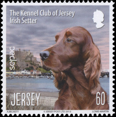 Jersey Sepac stamp