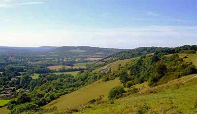Colley Hill View Reigate